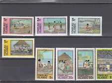 TOKELAU - SG49a-56a MNH 1976 ISLAND ACTIVITIES