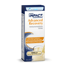 IMPACT ADVANCED RECOVERY® DRINK 6oz.(178mL) Vanilla 15 per Case Nestle  02/23/19