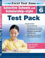 Excel Test Zone Selective School Placement-style Test Pack Year 6