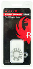 Ruger 90634 Redhawk 357 Rem Mag 8 rd Moon Clip Stainless Steel Finish pack of 3