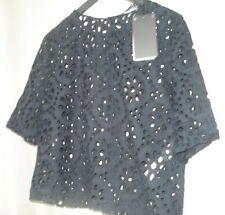 Blouse t-shirt noire Zara EUR L