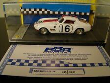 1/43 BBR Ferrari 250 TDF - 12 hours of Sebring 1959 - 1 of 100 pieces