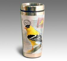 American Expedition Goldfinch Postcard 16 oz Stainless Steel Travel Mug