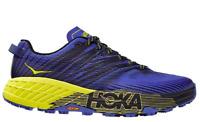 HOKA One One SPEEDGOAT 4 Black Primrose Men's SZS 7-14 Running Trail Shoes NIB