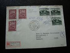 SUEDE - enveloppe 1er jour 24/9/1962 (cy35) sweden