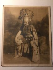 Clarence Whitehill Exceptional Rare Early Autograph Photo Metropolitan Opera '18