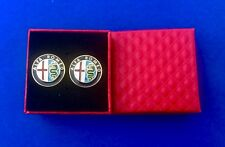 Alfa Romeo Cuff Links Luxury Auto Car  Cufflinks