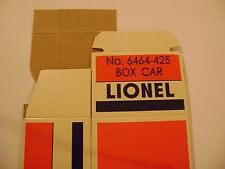 Lionel 6464-425 New Haven Box Car Licensed Reproduction Box
