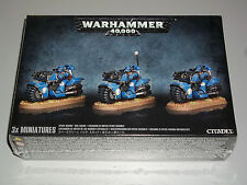 Warhammer 40K SPACE MARINE BIKE SQUAD Box Set! Brand New+Sealed!