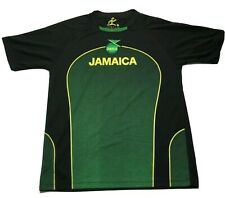 Jamaica Football Federation #10 Soccer Black Small Jersey Sportz Collection