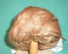 """Poupée Perruque/Cheveux 12.5"""" à 13.5"""" brun clair, Court/wancke"""