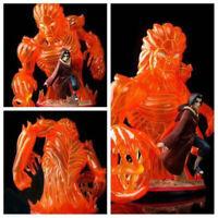 Naruto Run Uchiha Itachi Estatua Modelo Figura con LED Ligero 38cm PVC Juguete