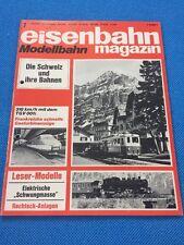 Eisenbahn Magazin Modellbahn 1974 7 Gasturbinenzug DB BR 82 Piko BR 52  Märklin