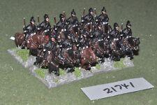 25 mm Renaissance/allemand-Reiters 12 figurines cavalerie-CAV (21741)