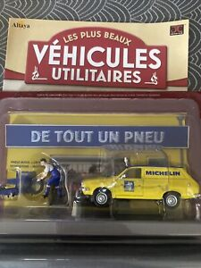 "DÉCOR"" VÉHICULES UTILITAIRES "" IXO/ALTAYA RENAULT 12 MICHELIN pneus r12 neuf"
