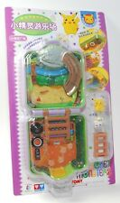 Auldey tomy Pokemon Pocket Monsters Mini Playset w Pikachu & Togepy CHIBI RARE