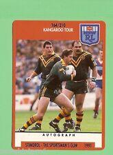 1991 KANGAROO  RUGBY LEAGUE CARD #164  GARY  BELCHER, STEVE ROACH
