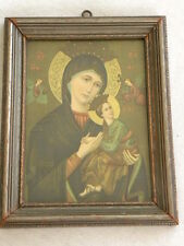 Mother of Perpetual Help Vintage Religious Icon Christian Art