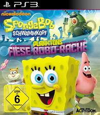 SONY PS3 SpongeBob Schwammkopf: Planktons Fiese Robo-Rache PlayStation 3 Serie