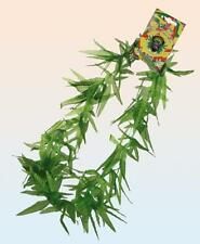 Aloha Cannabis Leaf Hemp Garland Necklace For Fancy Dress Partys