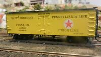 Roundhouse MDC PRR Union Line. Old Time 36'  Reefer, Upgraded, Exc