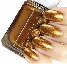 NEW Essie Leggy Legend Golden Bronze Shimmer Nail Polish / Nail Varnish