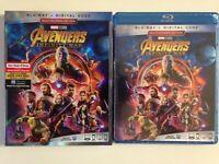 The Avengers: Infinity War (Blu-ray Disc, 2018)(NEW) Robert Downey Jr.