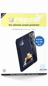 """WrapSol The Ultimate Screen Protector For Kindle Fire HD 8.9"""" Self Heal Film"""