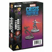 Hawkeye and Black Widow Character Pack Marvel Crisis Protocol NIB