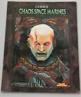 Warhammer 40k Codex Chaos Space Marines - Games Workshop - 1999