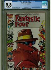FANTASTIC FOUR #296 CGC MINT 9.8 WHITE PAGES 1986 BARRY WINSOR SMITH COVER BLUE