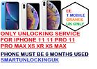 PREMIUM EE UNLOCKING FOR iPhone XS XR XS MAX (BLACKLIST SUPPORT) SEND IMEI