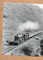"British rail 44932 climbing Glenfinnan 11/8/86.large original10""x8"" photo."
