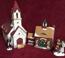 DEPT 56 SNOW VILLAGE GOOD SHEPHERD CHAPEL & CHURCH SCHOOL  #20221