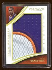 2015 IMMACULATE GRANT HILL JUMBO PATCH LOGO # 03/24 BEAUTIFUL 3 COLOR PATCH LOGO