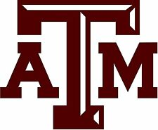 Texas A&M University Vinyl DieCut Sticker Decal Logo Ncaa 4 Stickers