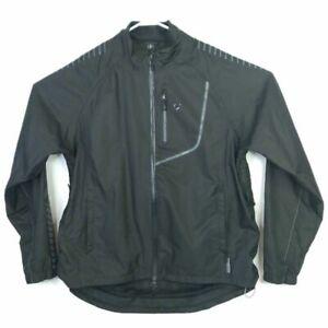 Bontrager Mens Velocis S1 Softshell Cycling Jacket Black Long Sleeve Mesh Zip XL