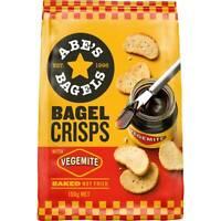 Abes Bagel Vegemite Crisps Crispbread 150g