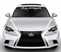 LS GX LX IS CT GS Fits LEXUS RX New ES NX RC /& more  WINDSHIELD DECAL