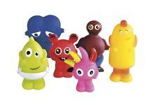 Teddykompaniet Babblarna: Babba, Bibbi, Bobbo,Dadda, Diddi och Doddo.