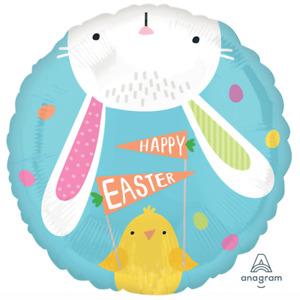 """Easter Hello Bunny 18"""" Foil Balloon"""