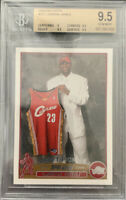 2003 Topps Lebron James 221 Rc Rookie BGS 9.5! Wow Skyrocketing! Invest Now