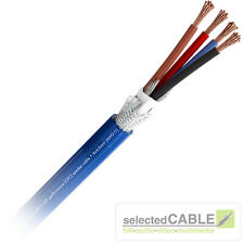 SOMMER CABLE Sc Quadra Blu 4 X 4,0mm ² Ofc Classe 6 Cavo Altoparlante High End