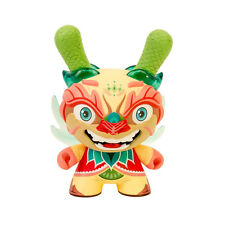 "kidrobot Imperial Lotus Dragon 8"" Dunny - Light Version - Scott Tolleson"
