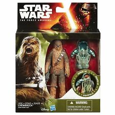 CHEWBACCA STAR WARS THE FORCE AWAKENS ACTION FIGURE ARMOR UP MOSC HASBRO 2015