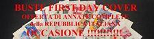 1962 - Annata completa  su 11  Buste FDC