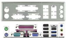 ATX Blende I/O shield ASRock H81M-GL #692 io schield NEU bracket backplate new
