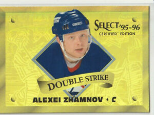 ALEXEI ZHAMNOV 1995-96 SELECT CERTIFIED DOUBLE STRIKE *GOLD* #20 (/903) RARE