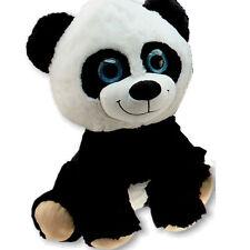 Großer Plüsch Panda 55 cm groß XL Glitzeraugen Pandabär Kuscheltier Plüschtier