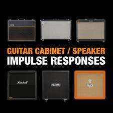 Guitar Amp Cabinet Speaker Impulse Responses / 16 GB / WAV Kemper Axe FX Helix